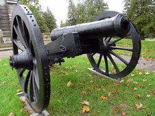 Free Black Cannon Stock Image - 3120361