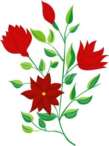 Free Red Flower Royalty Free Stock Images - 3123499