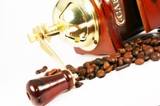 Free Coffee Mill Royalty Free Stock Image - 3124356
