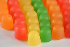 Free Close Up Of Gummy Candy Royalty Free Stock Images - 3124459