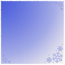 Free Graphic Snowflake Background Royalty Free Stock Photography - 3125307