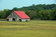 Rural Barn Tennessee Royalty Free Stock Images