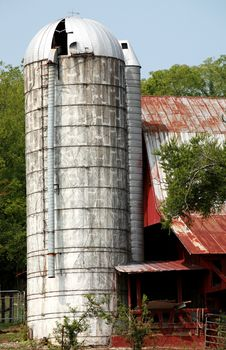Rural Barn Tennessee Royalty Free Stock Photo