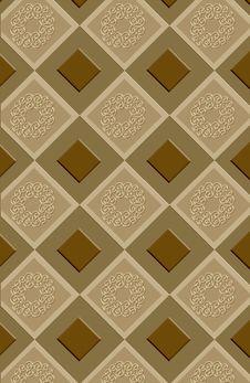 Free Inlayed Ornamental Tiles Stock Photos - 3126863