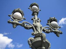 Free Sky. Lamp. St.-Petersburg Royalty Free Stock Image - 3129116