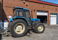 Free Blue Tractor Stock Photography - 31211152
