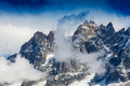Free Snow Covered Mountains And Rocky Peaks In The French Alps Royalty Free Stock Photography - 31216067