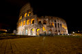 Free Coliseum By Night, Rome Italy Royalty Free Stock Image - 31219506