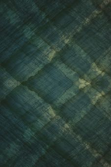 Plaid Looking Ocean Green Background Stock Images
