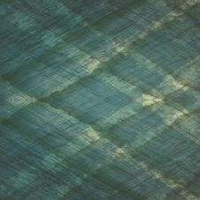 Square Plaid Green Background From The Ocean Stock Photo