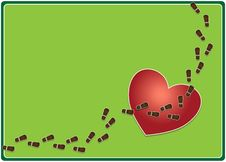 Free Trampled Heart Stock Images - 31213374