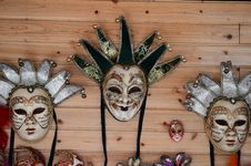 Free Three Masks Stock Photo - 31215290