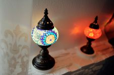 Free Oriental Lamps Royalty Free Stock Image - 31215326