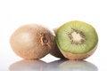 Free Kiwi Fruit On A White Background Royalty Free Stock Photos - 31220918