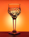 Free Small Liqueur Glass At The Orange Gradiend Background Royalty Free Stock Photography - 31225537