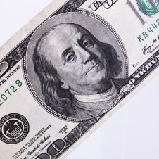 Free Close Up Of Dollar Bill Royalty Free Stock Photo - 31220075