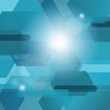 Free Blue Abstract Background Royalty Free Stock Photography - 31220137