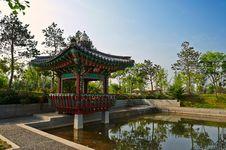 The Korea Pavilion Stock Photo