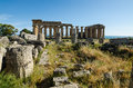 Free The Temple Of Hera &x28;Temple E&x29; At Selinunte, Sicily Stock Images - 31239634