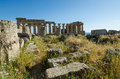 Free The Temple Of Hera &x28;Temple E&x29; At Selinunte, Sicily Royalty Free Stock Photography - 31239637