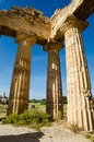 Free Columns Of The Temple Of Hera &x28;Temple E&x29; At Selinu Stock Photography - 31239642