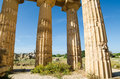 Free Columns Of The Temple Of Hera &x28;Temple E&x29; At Selinu Royalty Free Stock Photos - 31239648