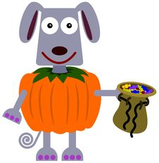 Free Animal Trick Or Treat Royalty Free Stock Image - 31231556