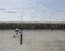 Free Fishing Rod And Reel Stock Photography - 31232522