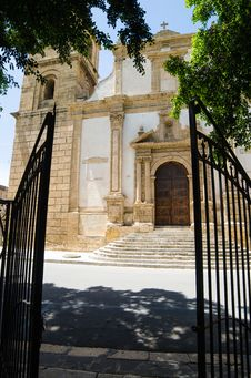 Free Church Of St. Giovanni Batista In Castelvetrano, S Stock Photos - 31239563