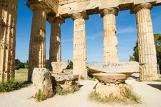 Free The Temple Of Hera &x28;Temple E&x29; At Selinunte, Sicily Stock Photography - 31239592