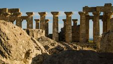 Free The Temple Of Hera &x28;Temple E&x29; At Selinunte, Sicily Stock Photo - 31239660