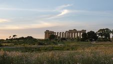Free The Temple Of Hera &x28;Temple E&x29; At Selinunte, Sicily Stock Images - 31239734