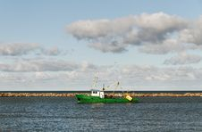 Free Fishing Ship. Royalty Free Stock Photo - 31244775