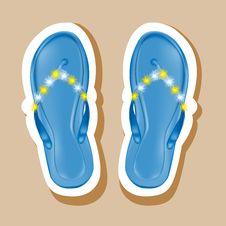 Free Flip Flops Royalty Free Stock Image - 31247356