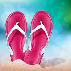 Free Summer Beach Royalty Free Stock Photo - 31247615