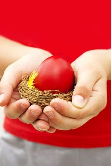 Free Easter Eggs Royalty Free Stock Image - 31253356