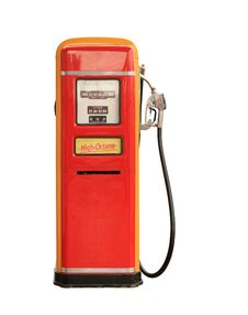 Free Vintage Gasoline Pump Royalty Free Stock Photo - 31255085
