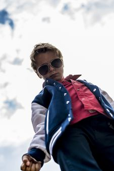 Free Cool Boy Royalty Free Stock Image - 31259176