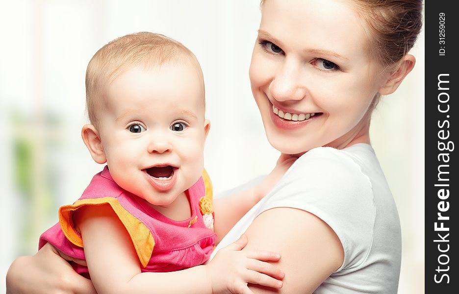 Happy Family Young Mother With Baby Free Stock Images Photos 31259029 Stockfreeimages Com