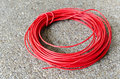 Free Red Hot Power Cable Royalty Free Stock Image - 31260826