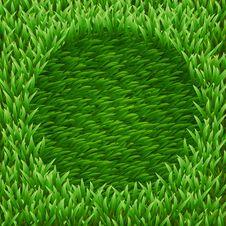 Free Circle On Green Grass Stock Photo - 31260080