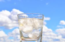 A Glass Of Water Royalty Free Stock Photography