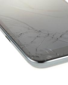 Broken Smart Phone Royalty Free Stock Photos