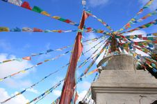 Free Prayer Flags Stock Photos - 31266433