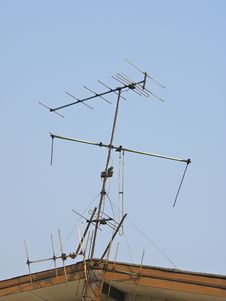Free Television Antenna Royalty Free Stock Photos - 31269228