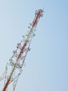 Free Telecommunication Antenna Royalty Free Stock Photography - 31269257