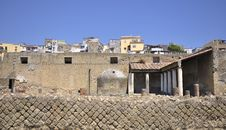 Free Herculaneum And Modern Ercolano Royalty Free Stock Images - 31269889
