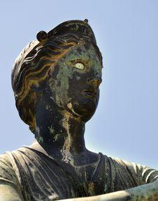 Free Statue Of Diana, Pompeii, Italy Royalty Free Stock Photos - 31269898