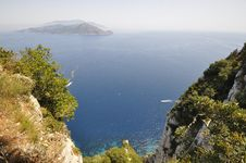 Free Capri Cliff View Stock Images - 31269934