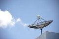 Free Satellite Dishes Royalty Free Stock Photo - 31278905